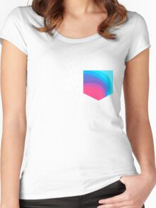 Peace Pocket Women's Fitted Scoop T-Shirt