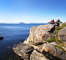 Views beyond Hammerfest, Norway by SeeOneSoul