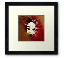 Gothic Mask 1 Framed Print