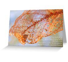 Inner Beauty Greeting Card