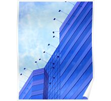 Modern Building Skyview Poster