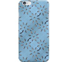 Jeans with flower cut outs iPhone Case/Skin