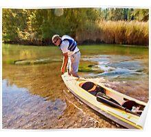 Kayak Moving Day Poster