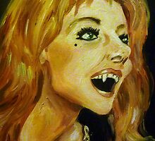 Ingrid Pitt as Countess Dracula by debzandbex