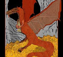 smaug the dragon by sherastudio