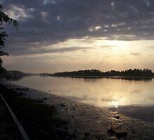Hazy Sunrise by keeganspera