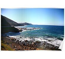Pacific Ocean Coast Poster