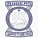 uk cotswolds logo by rogers bros tshirts by usanewyork