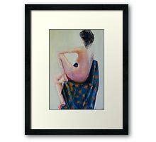 Nude 4 Framed Print