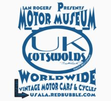 uk cotswolds logo by rogers bros tshirts Kids Clothes