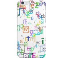 Random Type case 1 iPhone Case/Skin