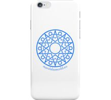 Arabian Mandala n1 Blue iPhone Case/Skin