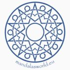 Arabian Mandala n1 Blue by Mandala's World