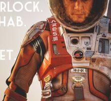 Mark Watney The Martian sticker Sticker