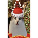 ✿♥‿♥✿   Bah Humbug Cat IPhone Case  ✿♥‿♥✿    by ╰⊰✿ℒᵒᶹᵉ Bonita✿⊱╮ Lalonde✿⊱╮