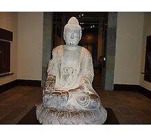 A Peaceful Serene Buddah Photographic Print