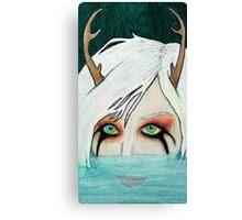 Hello Little Deer Canvas Print