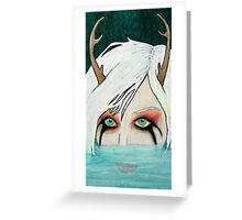Hello Little Deer Greeting Card