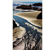 Sand, Sea and Sunlight Photographic Print