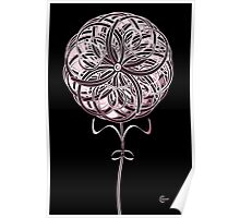 Art Deco Blooming Number 2 Poster