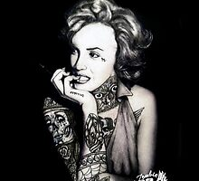 Ms Marilyn Suicide I (Case) by VON ZOMBIE ™©®