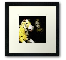 Show me your horse, and I will tell you who you are. Framed Print