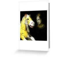 Show me your horse, and I will tell you who you are. Greeting Card