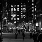 martin place, sydney (black and white) by YourHum