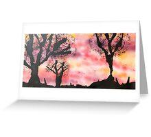 Katherine Dine - Silhouette Greeting Card