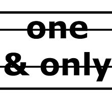 One & Only  by aeebou