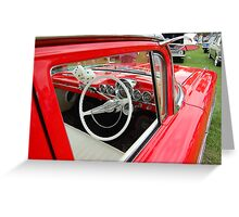 Chevy Bel Air 1959 Greeting Card