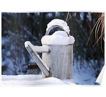 """Snow """"pot"""" Poster"""