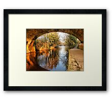 Under the Aquaduct. Framed Print