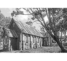 Church at Bookham B&W Photographic Print