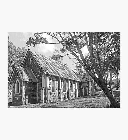 Church at Bookham B&W Photographic Print