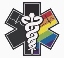 LGBT Pride - Star of Life by Derrick Burgess