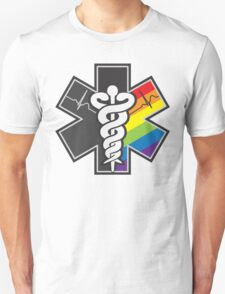 LGBT Pride - Star of Life Unisex T-Shirt