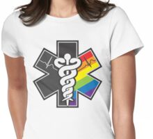 LGBT Pride - Star of Life Womens Fitted T-Shirt