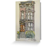 'The Inn', 943 South Van Ness Ave., San Francisco. California. ©2010 Greeting Card