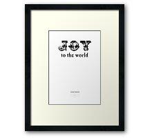 2011 Whitelights Christmas Card #1 Framed Print
