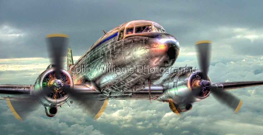 The Douglas C47 Dakota - HDR by Colin  Williams Photography