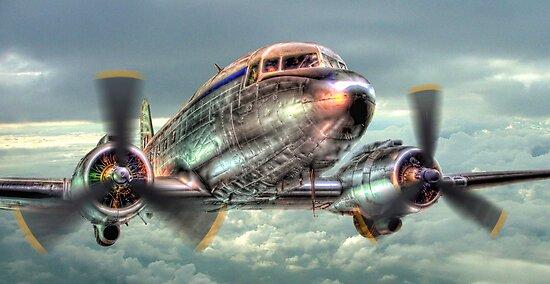 The Douglas C47 Dakota - HDR by Colin  Williams Photography
