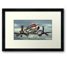 The Douglas C47 Dakota - HDR Framed Print