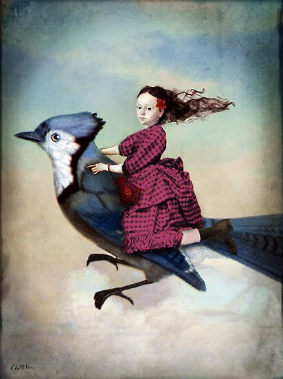 On sundays she always flies out by Catrin Welz-Stein