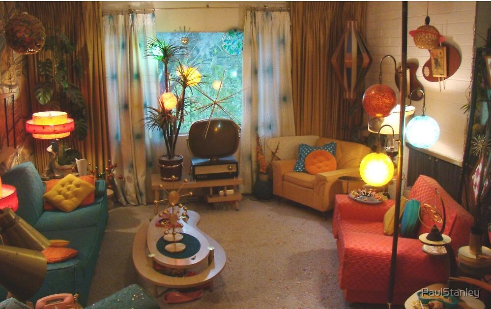 My 1950's Living Room by PaulStanley