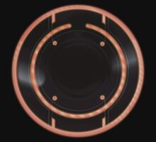 Tron Legacy - Rinzler ID Disc by Ryan Wilton