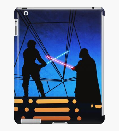 STAR WARS! Luke vs Darth Vader  iPad Case/Skin