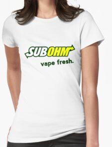 Vape Fresh Womens Fitted T-Shirt