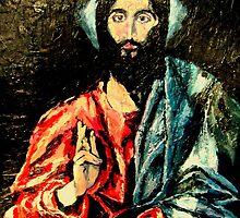 Christ after El Greco by barbara  leavitt