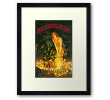 MAGICAL CHRISTMAS Framed Print